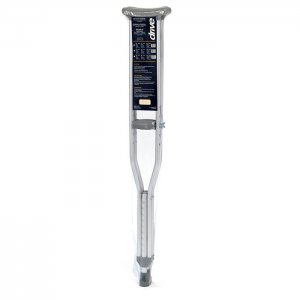 "Adult Underarm Crutch - User Height 5'2"" - 5'10"