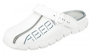 Abeba 'Dynamic' Clog White 7310