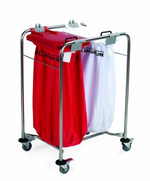 Laundry 2 Bag Medi-Cart 66x93x49cm