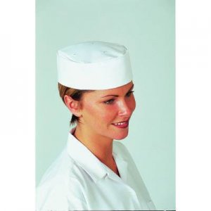 Chef Skull Cap White