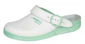 Abeba Foldable Heel Strap Occupational Clog 5081