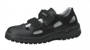 Abeba Safety Shoe with Mesh Black 1036