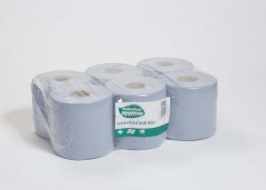 Centrefeed Paper Roll Blue/6