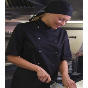 AFD Thermo Cool Chef Jacket Black