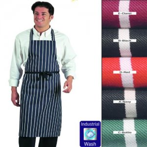 Butchers Apron Stripe No Pocket