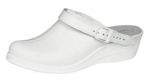 Abeba Raised Heel Occupational Clog 7002