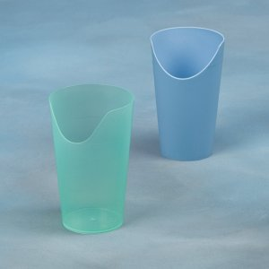 Nose Cut Out Beaker Turquoise