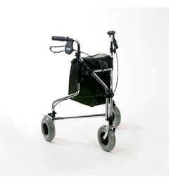 Tri Wheeled Walker with Loop Brakes