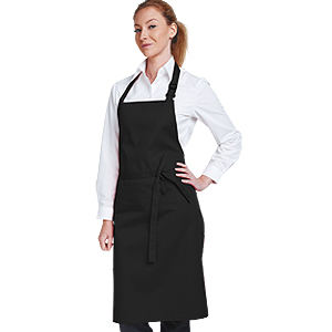 Bib Black Value Apron