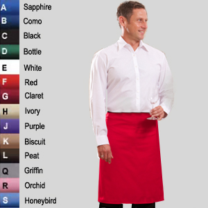 Waist Apron No Pocket