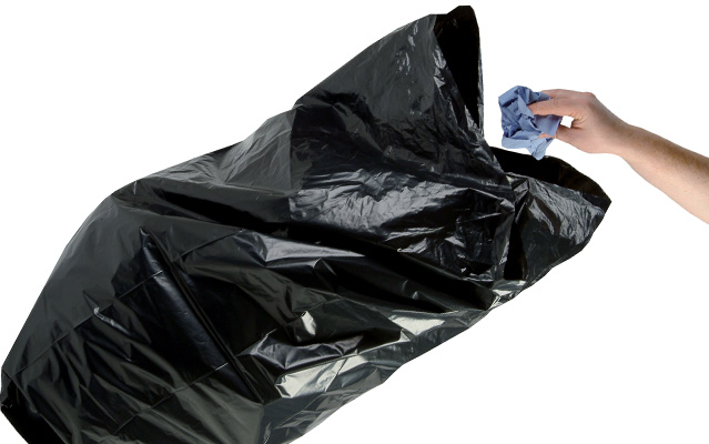Disposable Black Compactor Waste Bags