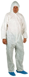 Disposable Coverall with Hood Standard