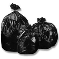 Heavy Duty Black Waste Bags/200