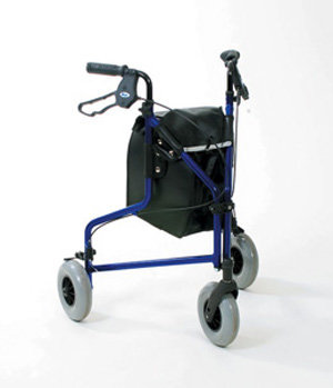 Lightweight Walker Tri Wheel