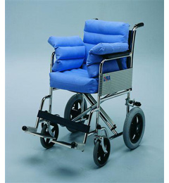 Wheelchair Seat Pad Complete with Sides and Back Polycore