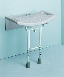 Shower Seat Wall Mounted with Legs
