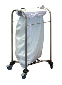 Laundry 1 Bag Trolley 38x93x49cm