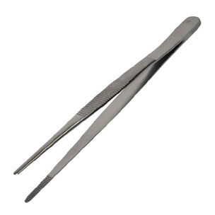 Tweezers Stainless Steel 5""
