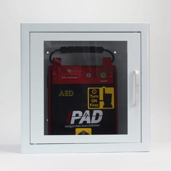defibrillator AED cabinet