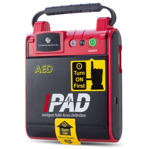simple and easy to use defibrillator AED