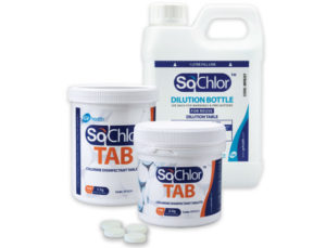 Sochlor disinfection tablet