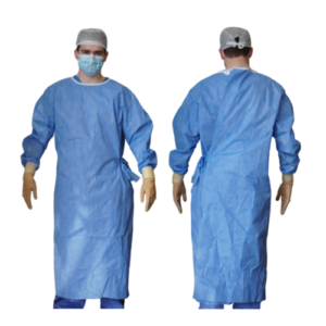 Reinforced Sterile Surgical gown