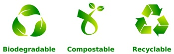 Biodegradable and compostable